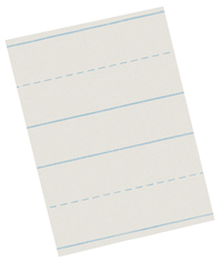Lined Paper, Primary Ruled Paper, Item Number 085232