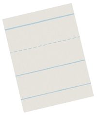 Lined Paper, Primary Ruled Paper, Item Number 085234