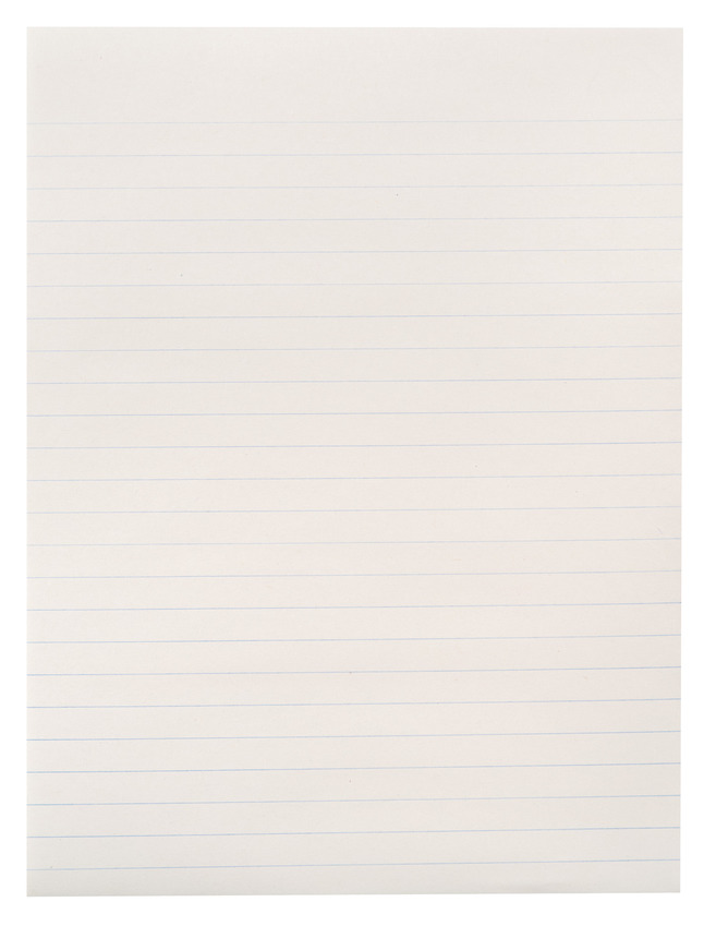 Lined Paper, Primary Ruled Paper, Item Number 085242