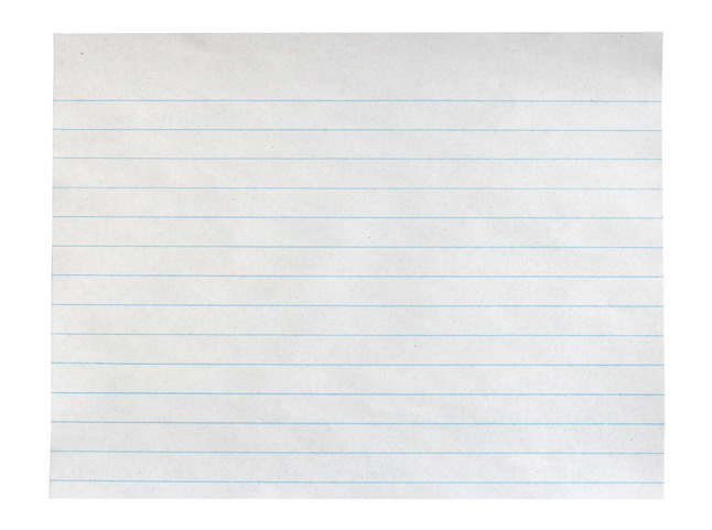 Lined Paper, Primary Ruled Paper, Item Number 085245