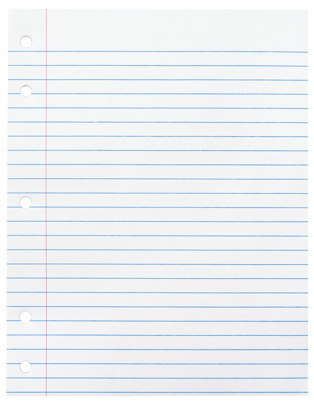 Lined Paper, Primary Ruled Paper, Item Number 085263