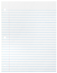 Lined Paper, Primary Ruled Paper, Item Number 085268