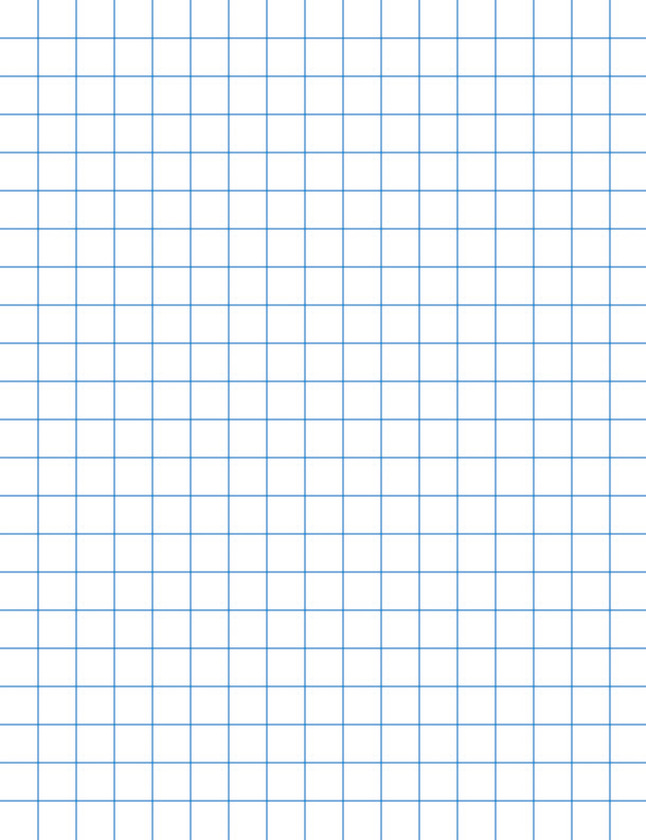 school smart graph paper  8 2 x 11 inches  1  4 inch rule