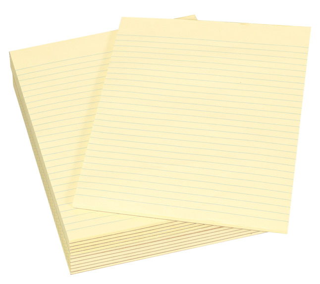 Legal Pads, Item Number 085278