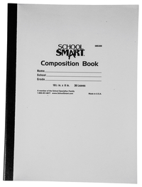 Composition Books, Composition Notebooks, Item Number 1508569