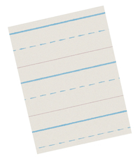 Lined Paper, Primary Ruled Paper, Item Number 085319
