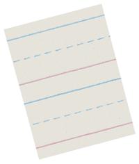 Zaner Bloser Paper, Item Number 085330
