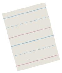 Zaner Bloser Paper, Item Number 085336