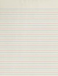 Zaner Bloser Paper, Item Number 085339