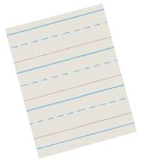 Zaner Bloser Paper, Item Number 085341