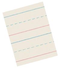 Zaner Bloser Paper, Item Number 085346