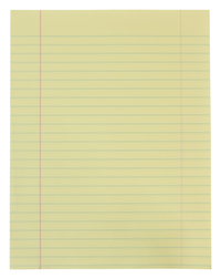 Lined Paper, Primary Ruled Paper, Item Number 085423