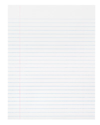 Lined Paper, Primary Ruled Paper, Item Number 085427