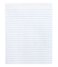School Smart Composition Paper, No Margin, 8-1/2 x 11 Inches, White, 500 Sheets Item Number