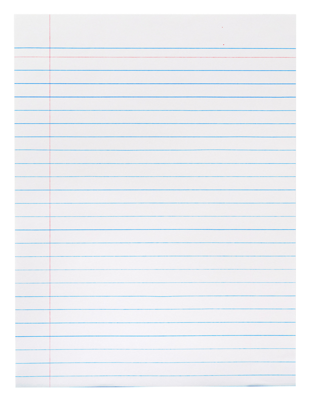 Lined Paper, Primary Ruled Paper, Item Number 085441