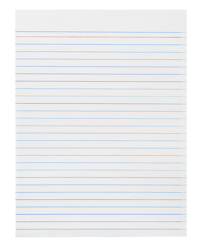 Lined Paper, Primary Ruled Paper, Item Number 085453