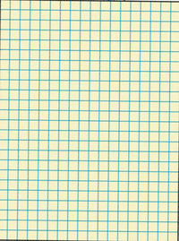 Graph Paper, Item Number 085478