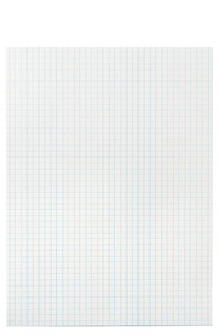 School Smart Graph Paper, 1/4 Inch Rule, 9 x 12 Inches, White, Pack of 500 Item Number 085627