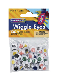 Googly Eyes and Wiggle Eyes, Item Number 085842