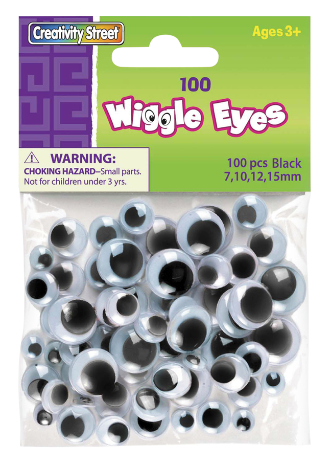Googly Eyes and Wiggle Eyes, Item Number 085843