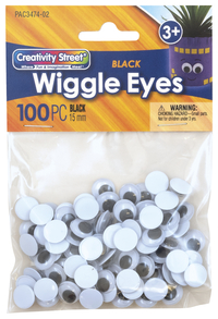Googly Eyes and Wiggle Eyes, Item Number 085848