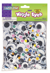 Googly Eyes and Wiggle Eyes, Item Number 085869