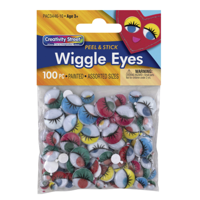 Googly Eyes and Wiggle Eyes, Item Number 085877