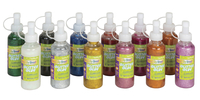 Creativity Street Washable Glitter Glue, 4 Ounces, Assorted Colors, Set of 12 Item Number 085890