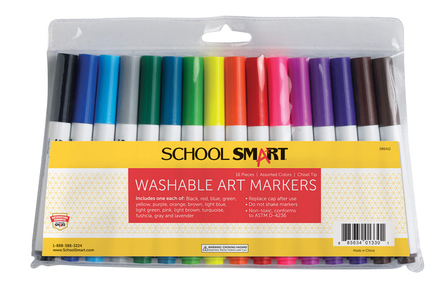 Washable Markers, Item Number 086412