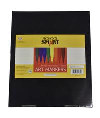 School Smart Art Marker, Fineline Tip, Assorted Colors, Pack of 200 Item Number 086416