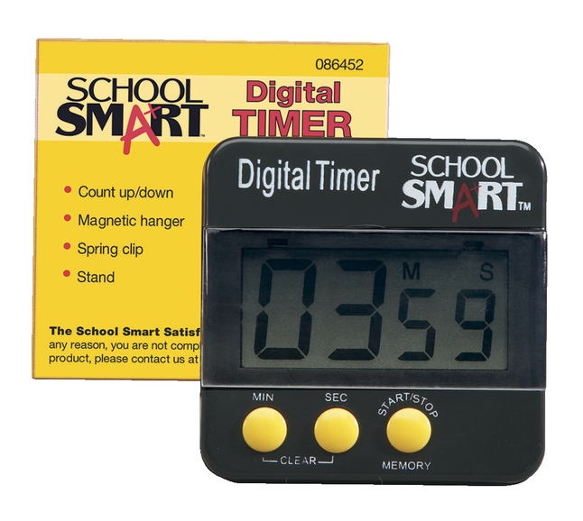 Visual Timers and Learning Timers, Item Number 086452