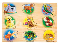 Early Childhood Chunky Puzzles, Item Number 086462