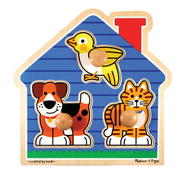Early Childhood Knob Puzzles, Item Number 086475