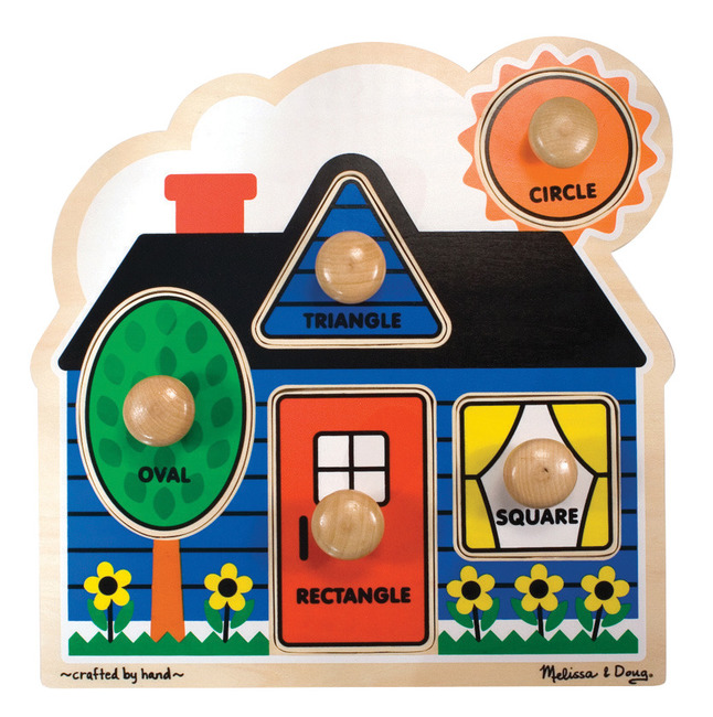 Early Childhood Knob Puzzles, Item Number 086478