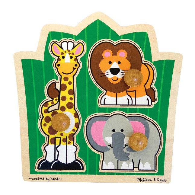 Early Childhood Knob Puzzles, Item Number 086479