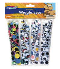 Googly Eyes and Wiggle Eyes, Item Number 086646