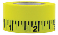 Mavalus Removable Ruler Poster Tape, 1 x 324 Inches Item Number 087148