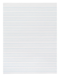 Lined Paper, Primary Ruled Paper, Item Number 087152