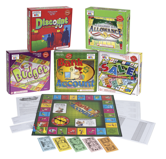 Money Games, Play Money Activities, Play Money Supplies, Item Number 087310