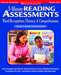 Literacy, Comprehension, Item Number 087505