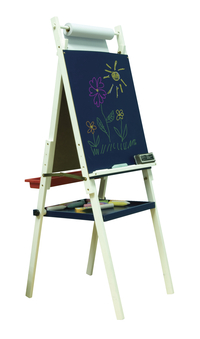 Studio Designs Wood Cadet Artist Easel for Children Two Sided, 48/52/56 in H X 20-3/4 in W X 22-3/4 in D Item Number