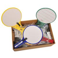 Dry Erase Response Paddles, Item Number 087785