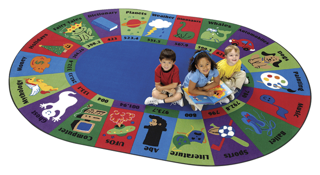 Reading Rugs, Reading and Literacy Rugs Supplies, Item Number 088121