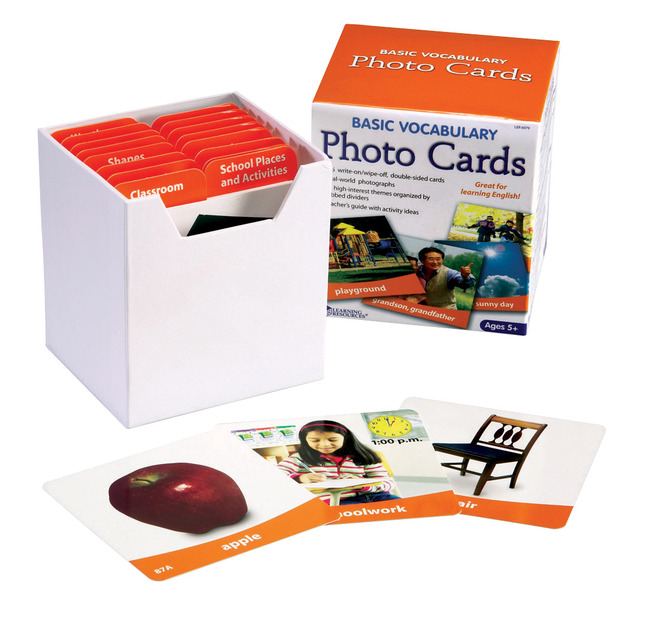 Vocabulary Games, Activities, Books Supplies, Item Number 088525