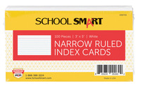 3X5 Ruled Index Cards, Item Number 088706