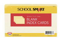 5x8 Blank Index Cards, Item Number 088709