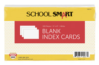 5x8 Blank Index Cards, Item Number 088714