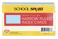 3X5 Ruled Index Cards, Item Number 088715