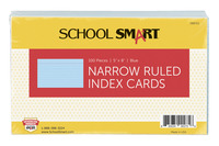 5x8 Ruled Index Cards, Item Number 088722