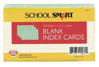 3x5 Blank Index Cards, Item Number 088727